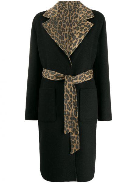 Пальто леопардовый с принтом Liu Jo
