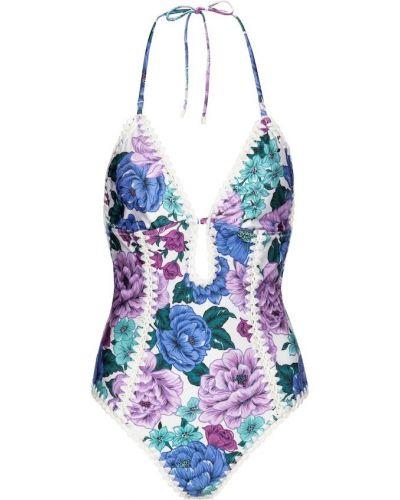 Фиолетовый купальник Zimmermann