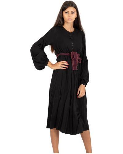 Sukienka długa z paskiem Alessia Santi