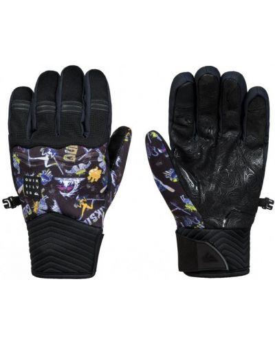 Черные перчатки Quiksilver