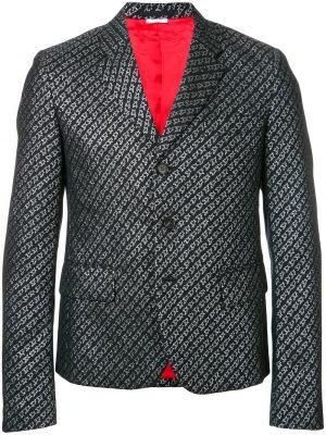 Шерстяной черный пиджак винтажный Comme Des Garçons Pre-owned