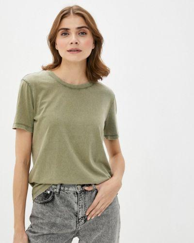 Зеленая футболка с короткими рукавами Jacqueline De Yong