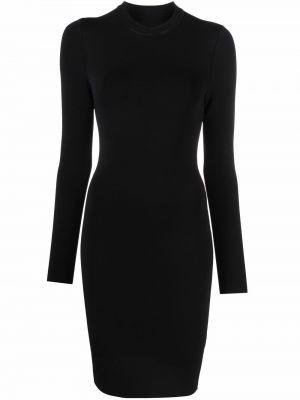 Платье макси с длинными рукавами - черное Alice+olivia