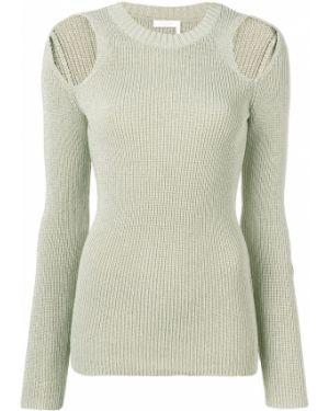 Акриловый длинный свитер See By Chloé