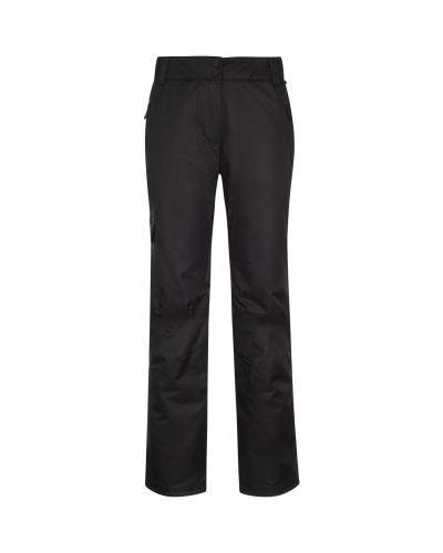 Прямые черные утепленные спортивные брюки Termit