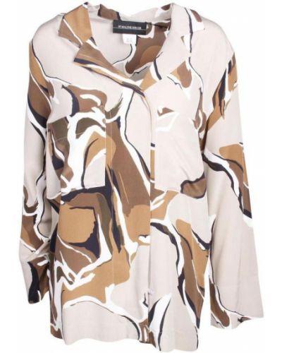 Beżowa koszula By Malene Birger