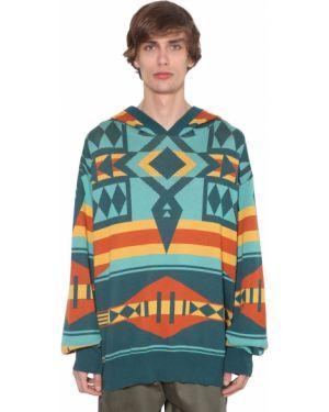 Prążkowana bluza z kapturem bawełniana Just Don