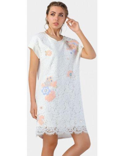 Белое платье летнее O&j