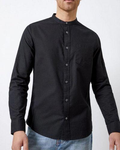 Рубашка с длинным рукавом черная индийский Burton Menswear London