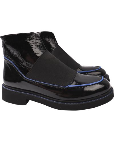 Кожаные ботинки - черные Tucino