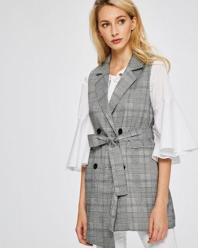Классический пиджак с поясом узкий Answear