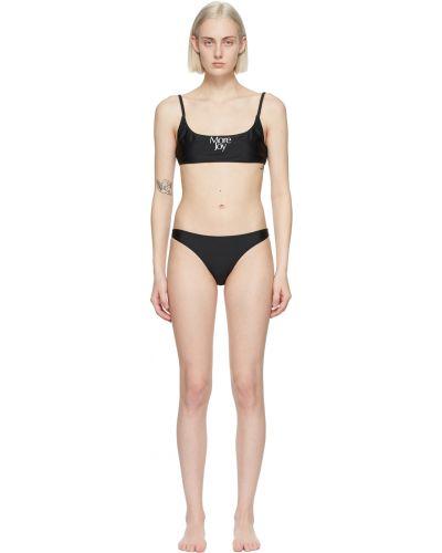 Czarny bikini z nylonu More Joy