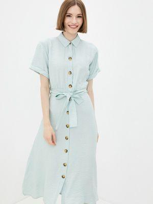 Зеленое платье-рубашка Defacto