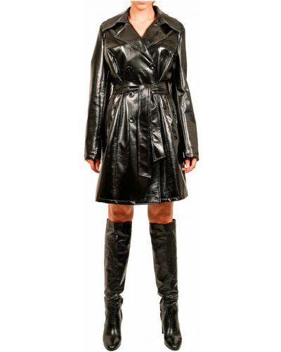 Czarny płaszcz Hanita