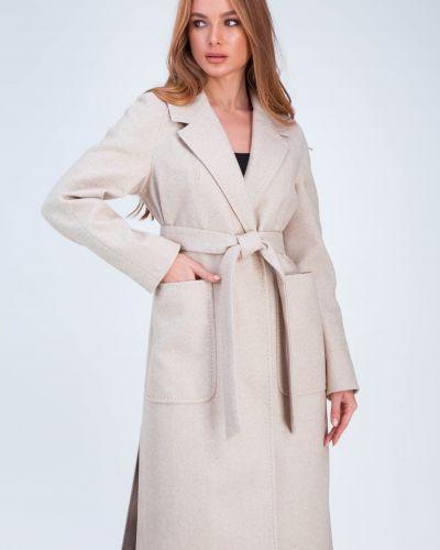 Кашемировое пальто - бежевое Emass