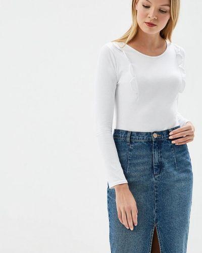Белое боди блуза Lost Ink Petite