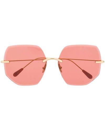 Солнцезащитные очки желтый хаки Kaleos