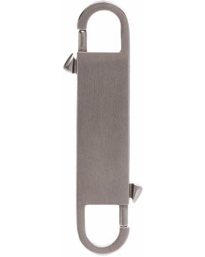 Брелок серебряный Rick Owens