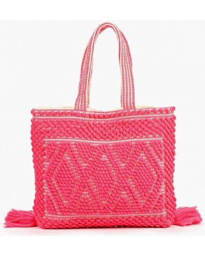 Сумка шоппер розовый весенний Dorothy Perkins