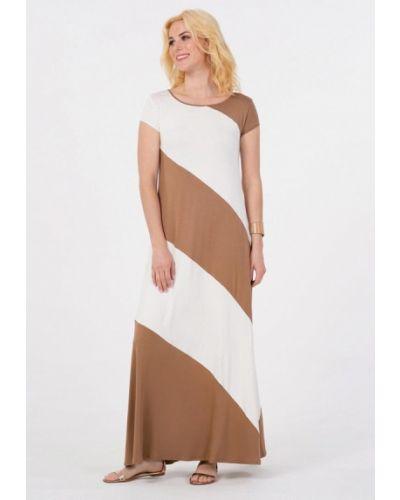 Коричневое платье Petit Pas