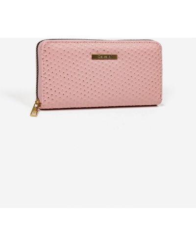Różowy portfel Renee