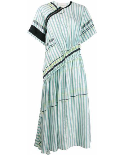 Платье мини макси в полоску Cedric Charlier