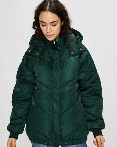 Куртка с капюшоном на резинке утепленная Noisy May