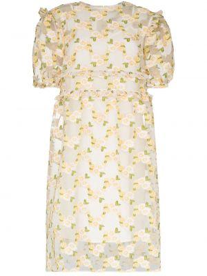 Желтое платье Shrimps