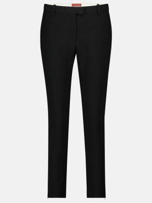 Черные укороченные брюки Altuzarra