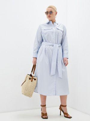 Платье - голубое Lauren Ralph Lauren Woman