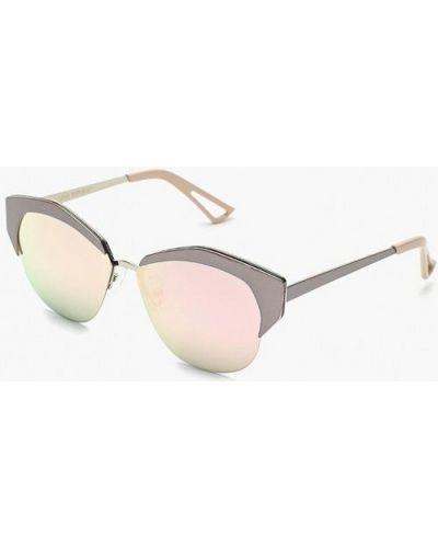 Серые солнцезащитные очки Love Republic