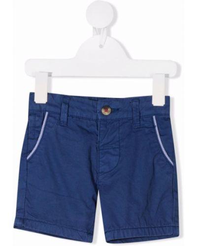 Koszula bawełniana - niebieska Harmont & Blaine Junior