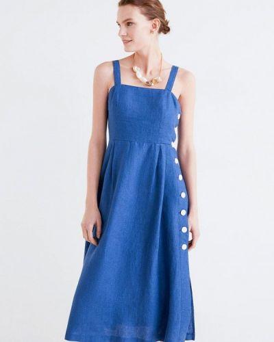 Сарафан синий Mango
