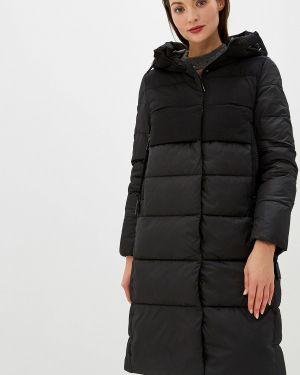 Утепленная куртка демисезонная черная Malinardi