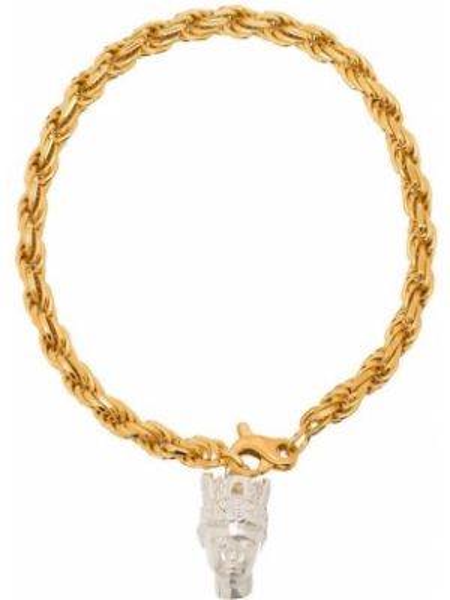 Złota bransoletka ze złota pozłacana Hermina Athens