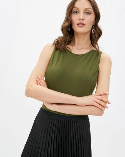 Брендовый зеленый топ Lipinskaya Brand