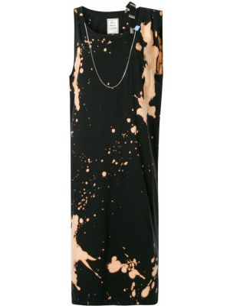 Sukienka o prostym kroju czarny Maison Mihara Yasuhiro