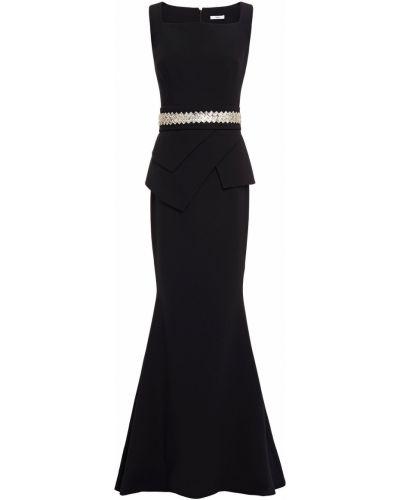 Czarna sukienka z paskiem Safiyaa