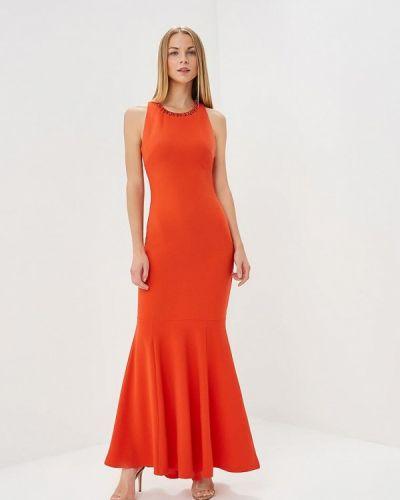 Красное весеннее вечернее платье Ad Lib