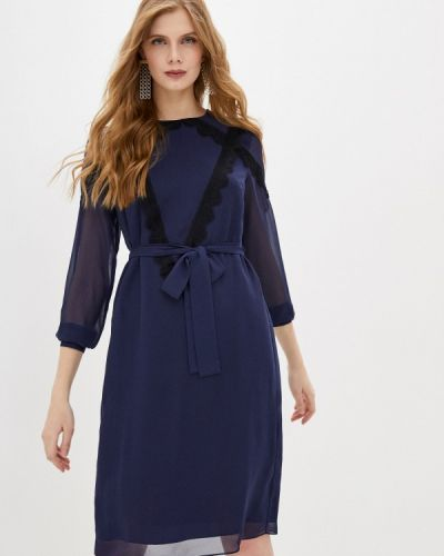 Повседневное синее платье Blugirl Folies