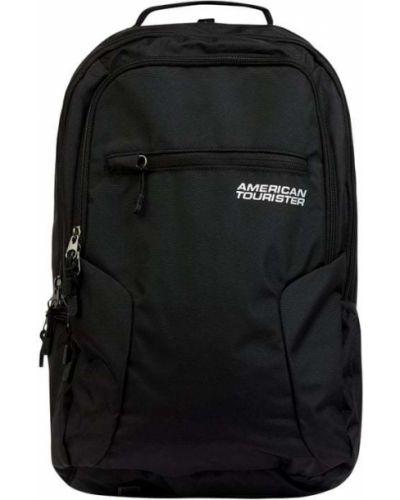 Plecak na laptopa - czarny American Tourister