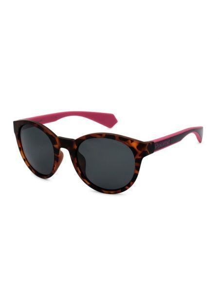 Różowe okulary Polaroid