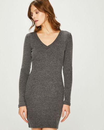 Платье мини с V-образным вырезом облегающее Answear