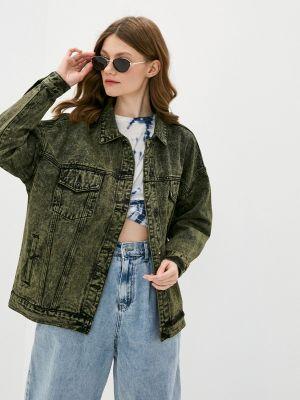 Джинсовая куртка хаки Befree