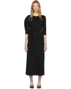 Платье с отложным воротником черное Rudi Gernreich
