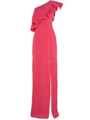 Różowa sukienka wieczorowa Trendyol