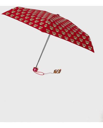 Зонт красный Moschino