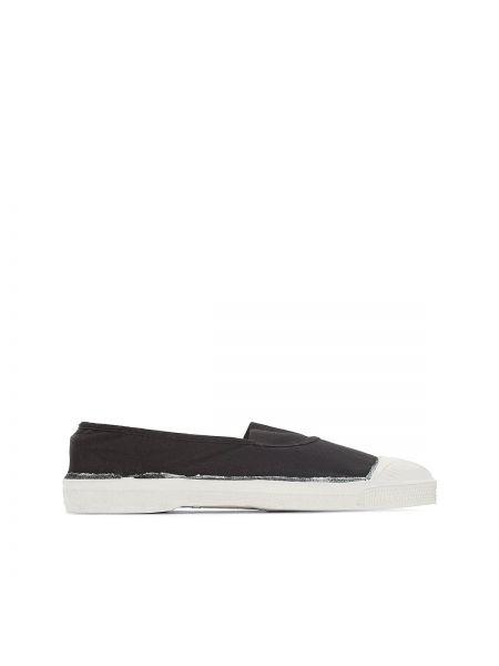 Черные кроссовки Bensimon