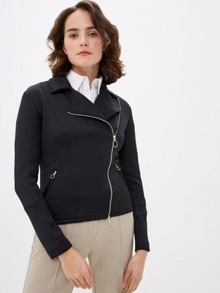 Кожаная куртка черная весенняя Pennyblack