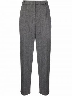 Шерстяные брюки - черные A.p.c.